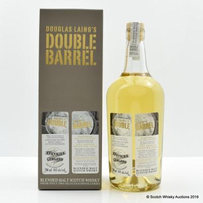 Douglas Laing's Speyide & Lowland Double Barrel