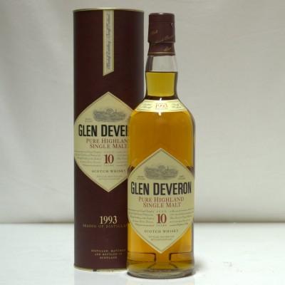 Glen Deveron 10 Year Old 1993