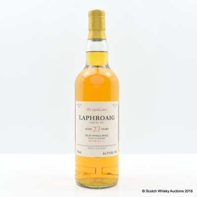 Laphroaig 1988 27 Year Old The Syndicate's Bottling