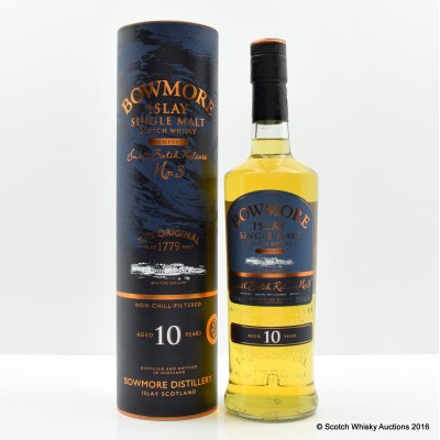 Bowmore Tempest 10 Year Old Small Batch Release #3