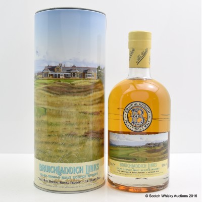 Bruichladdich Links The 18th Green, Royal Troon 14 Year Old