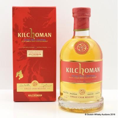 Kilchoman 2013 Single Cask Distillery Shop Exclusive