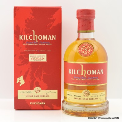 Kilchoman 2013 Single Cask Distillery Shop Exclusive