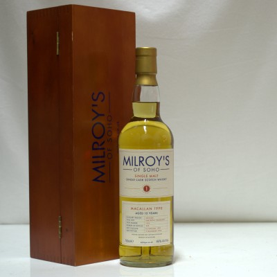 Macallan 15 Year Old Milroy's