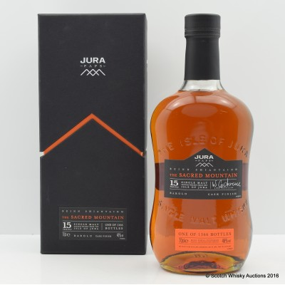 Jura Paps 15 Year Old The Sacred Mountain