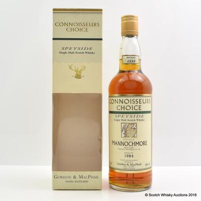 Mannochmore 1984 Connoisseurs Choice
