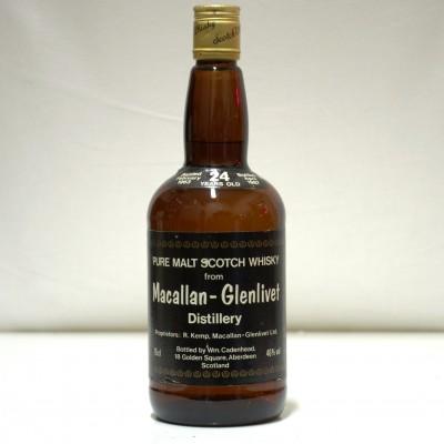 Cadenhead's Macallan Glenlivet  Year Old 75cl