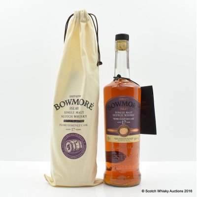 Bowmore Feis Ile 2016 17 Year Old Hand Filled Sherry