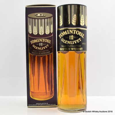 Tomintoul-Glenlivet 12 Year Old Perfume Bottle
