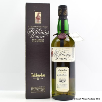 Tullibardine 25 Year Old Stillman's Dram