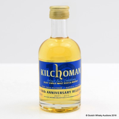 Kilchoman 10th Anniversary Mini 5cl