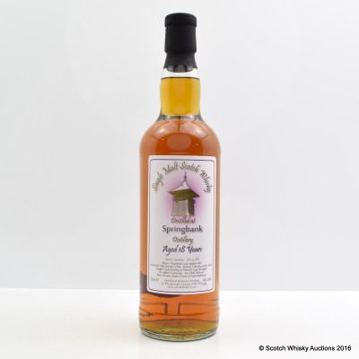 Springbank 1996 18 Year Old Whisky Broker
