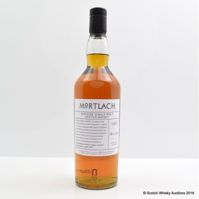 Mortlach Spirit Of Speyside 2013 Whisky Festival
