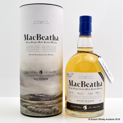 Bowmore MacBeatha 4th Edition Signed