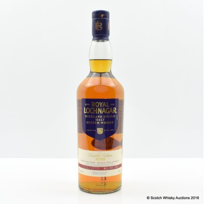ROYAL LOCHNAGAR 1998 DISTILLERS EDITION 75cl