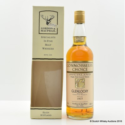 Glenlochy 1977 Connoisseurs Choice