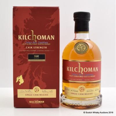 Kilchoman 2010 Single Cask Whisky Exchange Exclusive