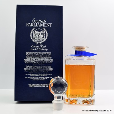 Scottish Parliament Glencairn Crystal Decanter