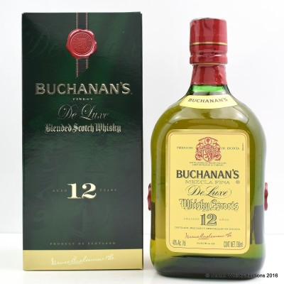 Buchanan's De Luxe 12 Year Old 75cl
