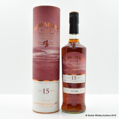 Bowmore Feis Ile 2011 15 Year Old Laimrig