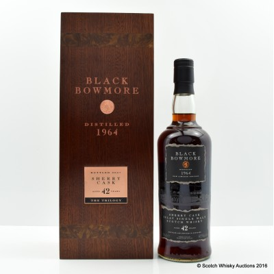 Bowmore Black 1964 42 Year Old