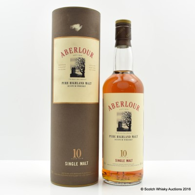 Aberlour 10 Year Old Old Style
