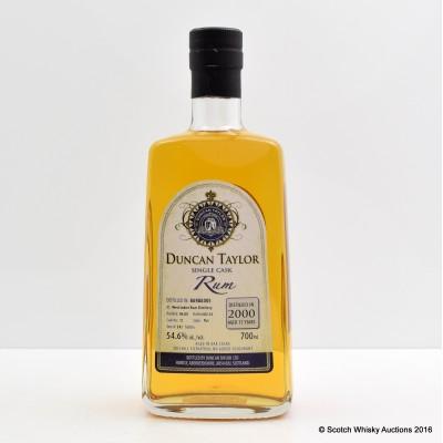 West Indies Rum Distillery 2000 15 Year Old Duncan Taylor Single Cask Rum