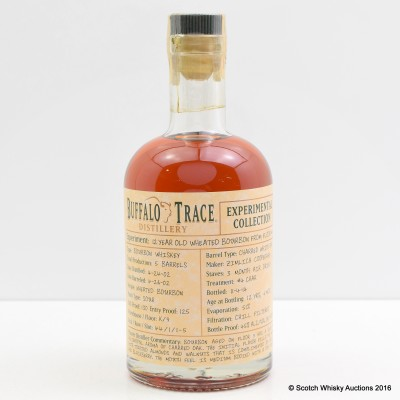 Buffalo Trace 12 Year Old Experimental Collection 37.5cl