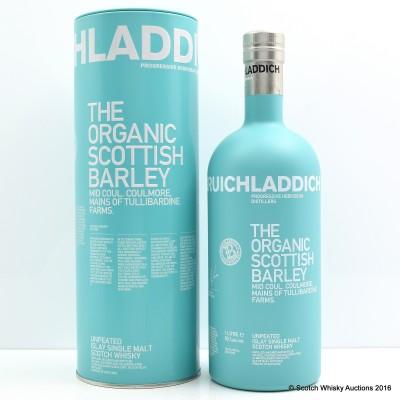 Bruichladdich The Organic Scottish Barley 1L
