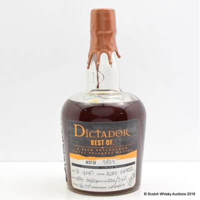 Dictador Best of 1984 31 Year Old Rum