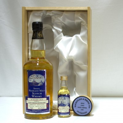 Glen Mhor 35 Year Old with Mini and Section Of Stave