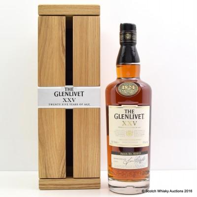 Glenlivet XXV 25 Years Old