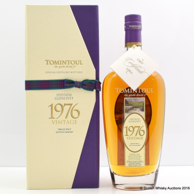 Tomintoul 1976 36 Year Old