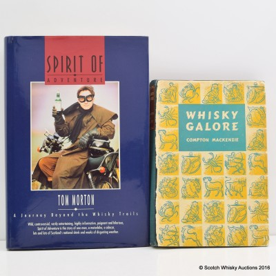 Whisky Books x 2 Including Whisky Galore