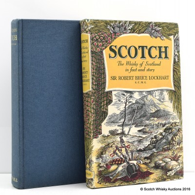 Whisky Books x 2 Including Scotch - The Formative Years