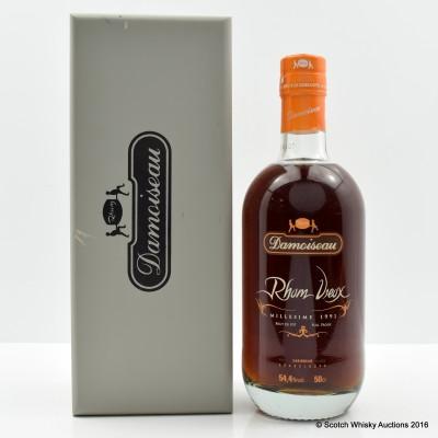 Damoiseau 1991 Guadeloupe Rum 50cl