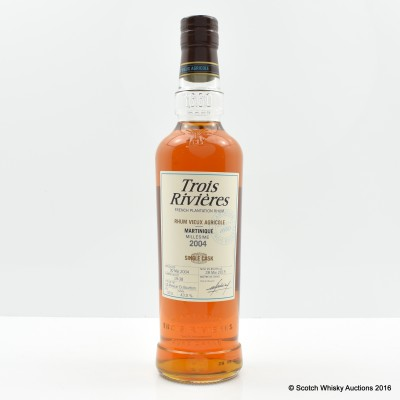 Martinique 2004 Single Cask Rum Trois Rivieres 50cl