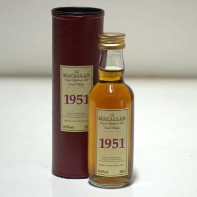 Macallan 1951 Mini 5cl