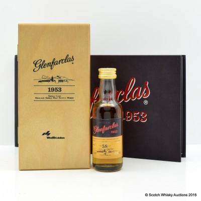 Glenfarclas 1953 Mini 5cl & Book