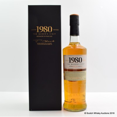 Bowmore 1980 30 Year Old The Queen's Visit