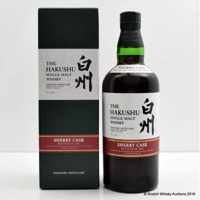 Hakushu Sherry Cask 2013 Release