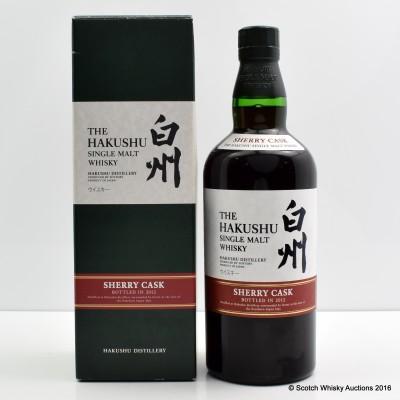 Hakushu Sherry Cask 2012 Release