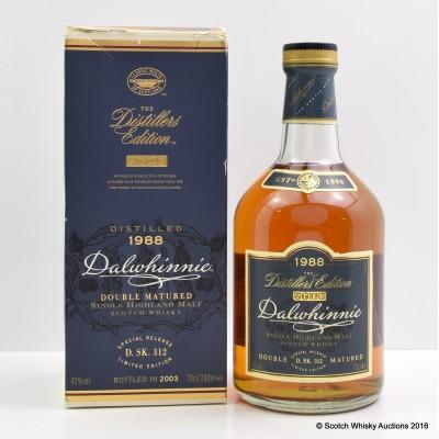 Dalwhinnie 1988 Distiller's Edition