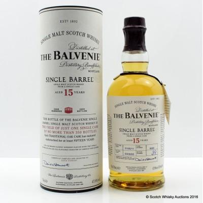 Balvenie 15 Year Old Single Barrel
