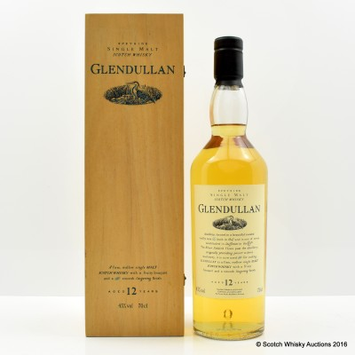 Flora & Fauna Glendullan 12 Year Old In Wooden Box
