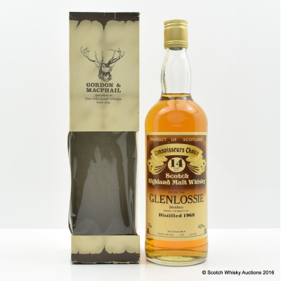 Glenlossie 1968 14 Year Old Connoisseurs Choice 75cl