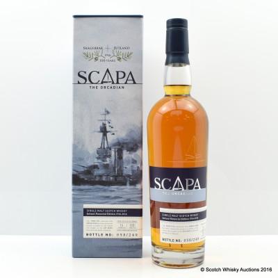 Scapa 16 Year Old Jutland Memorial Edition 1916-2016