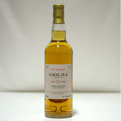 Caol Ila 20 Year Old The Syndicate