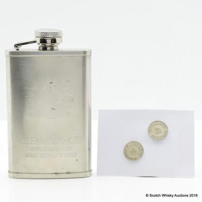 Glenmorangie Hip Flask & Cufflinks