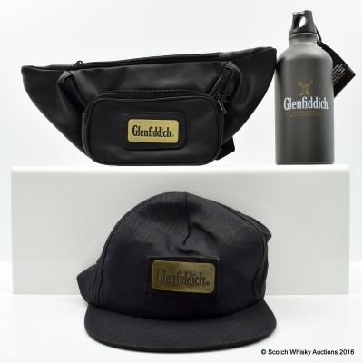 Glenfiddich Bumbag, Water Bottle & Cap
